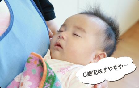 お昼寝「未満児さんは、おひるねです。」